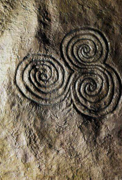 knowth stone carving
